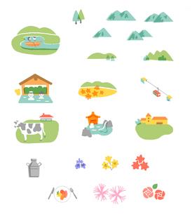 地図 自然イメージ アイコンのイラスト素材 [FYI04640187]