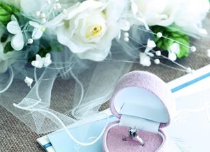結婚指輪の写真素材 [FYI04640260]