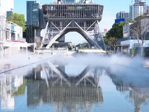 耐震工事終了後の名古屋テレビ塔の写真素材 [FYI04640621]