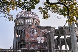 【広島県 広島市】原爆ドームの写真素材 [FYI04641192]