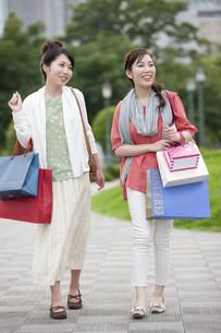 ショッピングをする女性の写真素材 [FYI04642438]
