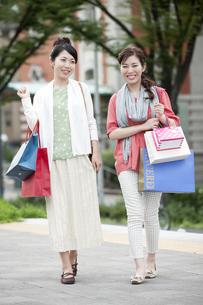 ショッピングをする女性の写真素材 [FYI04642439]
