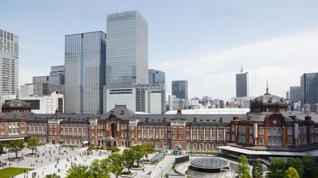 東京駅丸の内駅舎の写真素材 [FYI04642534]