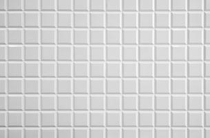 白いタイルの壁の写真素材 [FYI04642565]