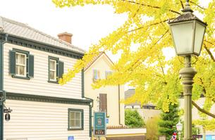 関西の風景 神戸市 北野町異人館街の秋の写真素材 [FYI04642783]
