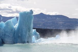 パタゴニアの氷河の写真素材 [FYI04643489]