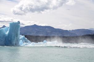 パタゴニアの氷河の写真素材 [FYI04643503]