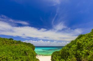 宮古島の砂山ビーチの写真素材 [FYI04644313]