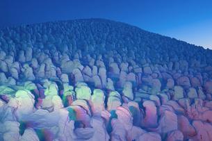 蔵王樹氷の写真素材 [FYI04644620]