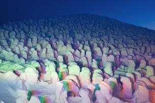 蔵王樹氷の写真素材 [FYI04644622]