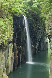 高千穂峡真名井の滝の写真素材 [FYI04644647]