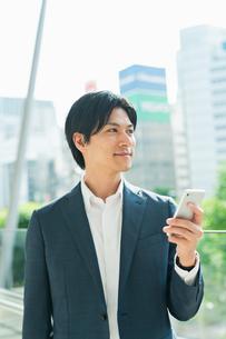 若いアジア人のビジネスマンの写真素材 [FYI04644875]