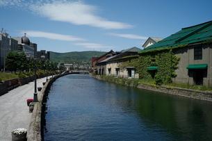 北海道 小樽運河の写真素材 [FYI04644934]