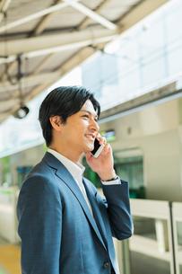 若いアジア人のビジネスマンの写真素材 [FYI04644950]