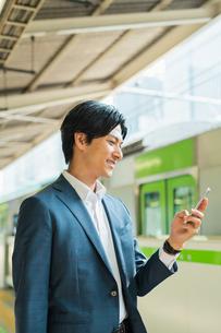 若いアジア人のビジネスマンの写真素材 [FYI04644958]