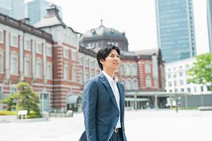若いアジア人のビジネスマンの写真素材 [FYI04645159]