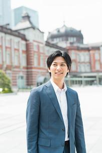 若いアジア人のビジネスマンの写真素材 [FYI04645164]