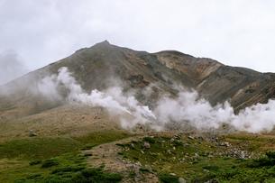 北海道 秋の大雪山旭岳の風景の写真素材 [FYI04645450]