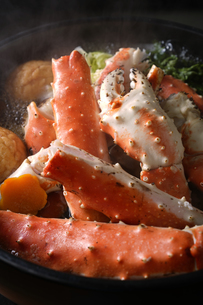 タラバ蟹の鍋の写真素材 [FYI04645494]