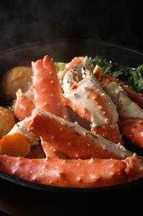 タラバ蟹の鍋の写真素材 [FYI04645495]