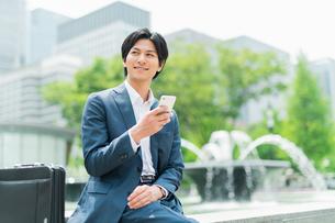 若いアジア人のビジネスマンの写真素材 [FYI04645507]