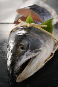 鮭の山漬けの写真素材 [FYI04645554]