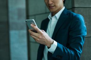 若いアジア人のビジネスマンの写真素材 [FYI04645672]