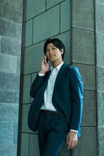 若いアジア人のビジネスマンの写真素材 [FYI04645674]