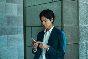 若いアジア人のビジネスマンの写真素材 [FYI04645680]