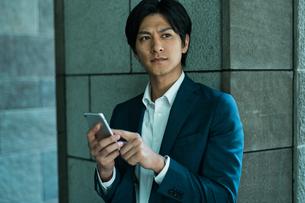若いアジア人のビジネスマンの写真素材 [FYI04645683]