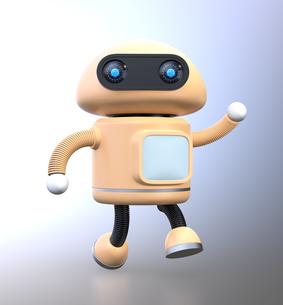 踊るロボットの写真素材 [FYI04645799]