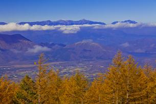 富士スバルラインから見た南アルプスの山々の写真素材 [FYI04646148]