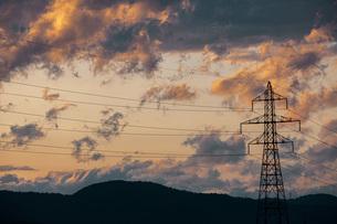 夕焼け雲の写真素材 [FYI04646726]