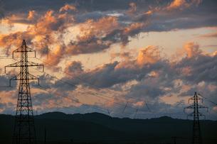 夕焼け雲の写真素材 [FYI04646727]
