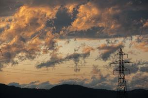 夕焼け雲の写真素材 [FYI04646730]