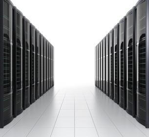 データセンターイメージの写真素材 [FYI04647443]