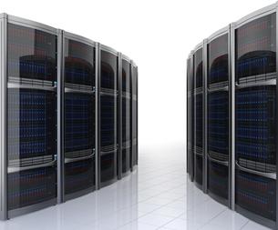 データセンターインテリアイメージの写真素材 [FYI04647458]