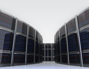 データセンターインテリアイメージの写真素材 [FYI04647463]