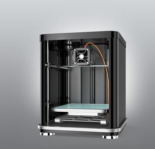 3Dプリンタのイメージの写真素材 [FYI04647500]