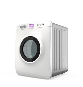 タッチパネル制御のスマート洗濯機の写真素材 [FYI04647503]