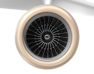 ジェットファンエンジンの写真素材 [FYI04647626]