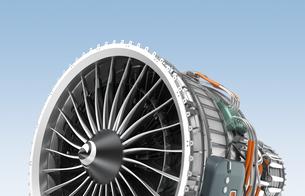ジェットファンエンジンの写真素材 [FYI04647629]