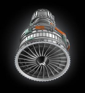 ジェットファンエンジンの写真素材 [FYI04647658]