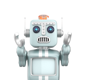 悲しきロボットの写真素材 [FYI04647680]