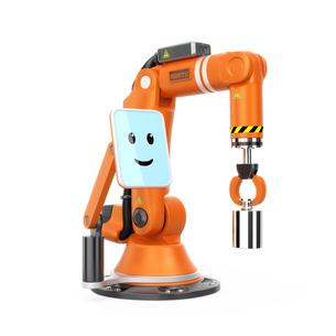 モニター付きロボットアームの写真素材 [FYI04647699]