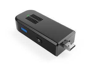 黒色のスティック型PCの写真素材 [FYI04647747]