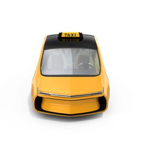 黄色いタクシーのイメージの写真素材 [FYI04648021]