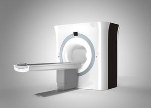 MRIスキャナーイメージ。オリジナルデザインの写真素材 [FYI04648141]