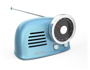 レトロスタイルのラジオの写真素材 [FYI04648260]