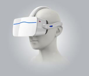 VRヘッドセットイメージの写真素材 [FYI04648304]